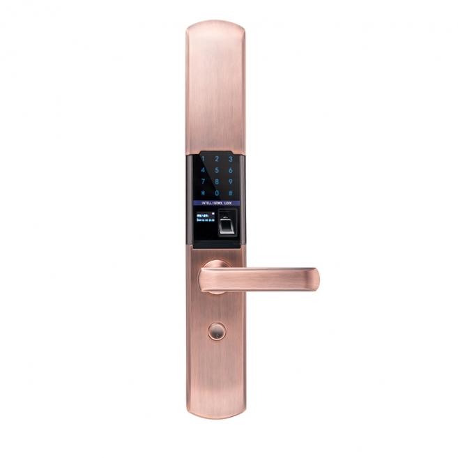 选择指纹锁不仅功能重要,机械锁芯同样重要